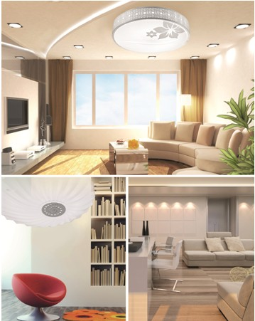 LED lighting help you to get a warm home