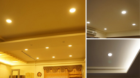 Led Down Light Has Widely Used For