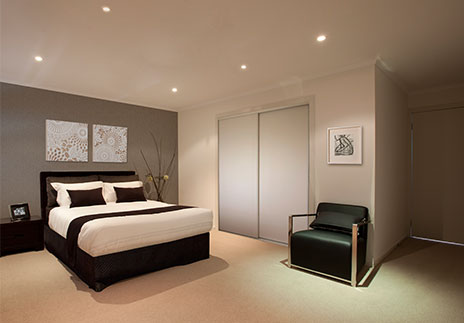 Led Lighting Bedroom 3W Modern Brief Led Crystal Living Room Spot
