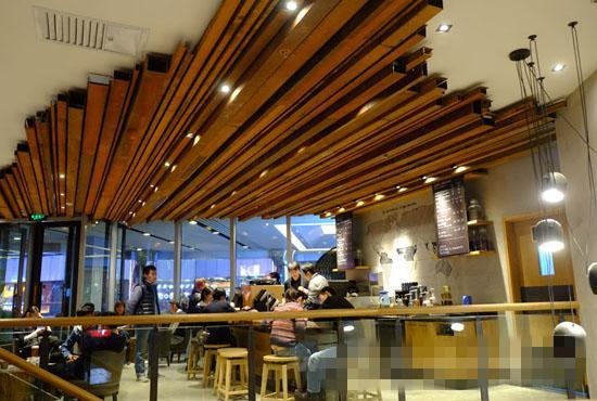Starbucks Beijing Store Lighting Design Eneltec Group