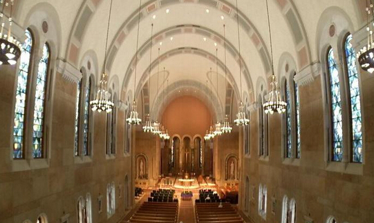 Us Assisi Heights Church Add New Led Lighting Eneltec Group