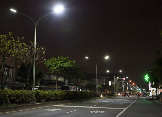 China LED street lamp penetration rate of 30%