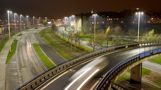 Philips supports smart city LED road lighting