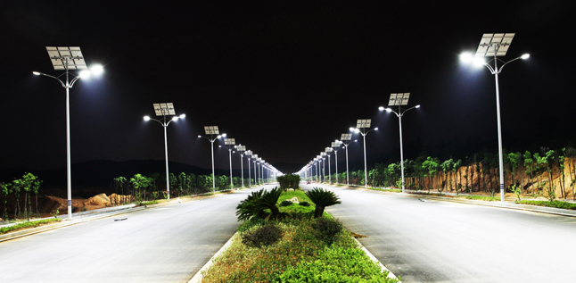 "21500 street lights in Linhe City ""transformed"" to LED street lights"