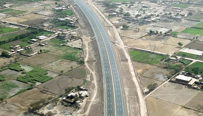 The lighting project of Pakistan PKM highway project is completed