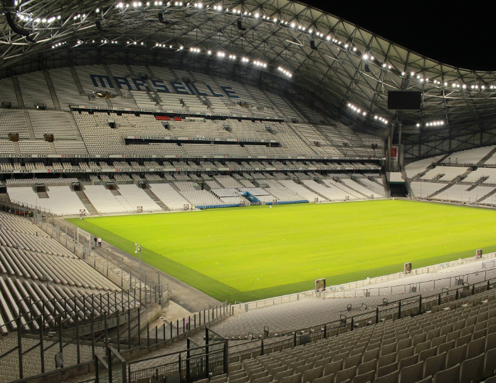 Marseille Vlodrome becomes France's largest 100% LED illuminated stadium