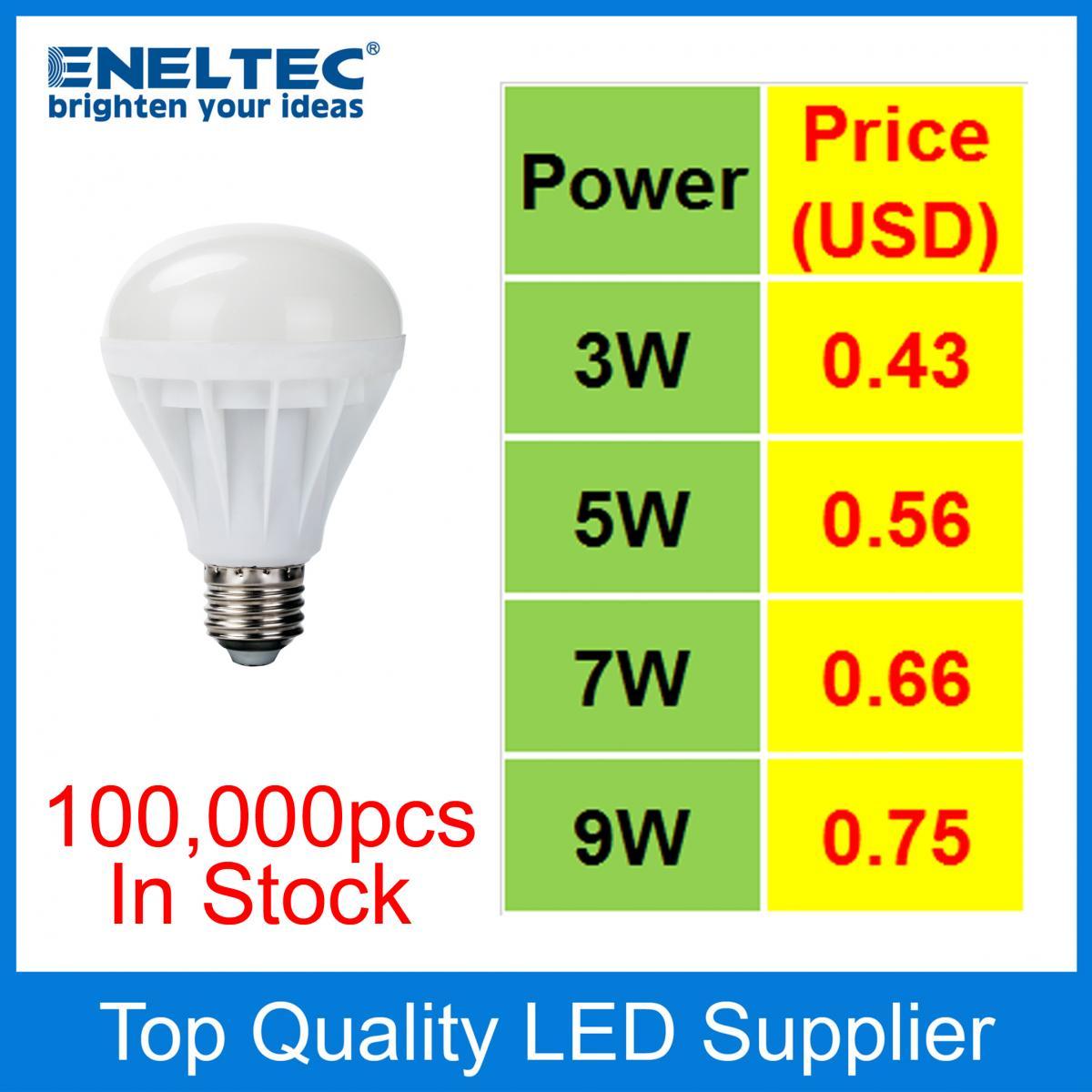 Plastic LED Bulbs | Eneltec Group