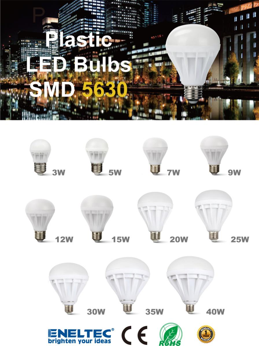Plastic Led Bulbs Eneltec Group