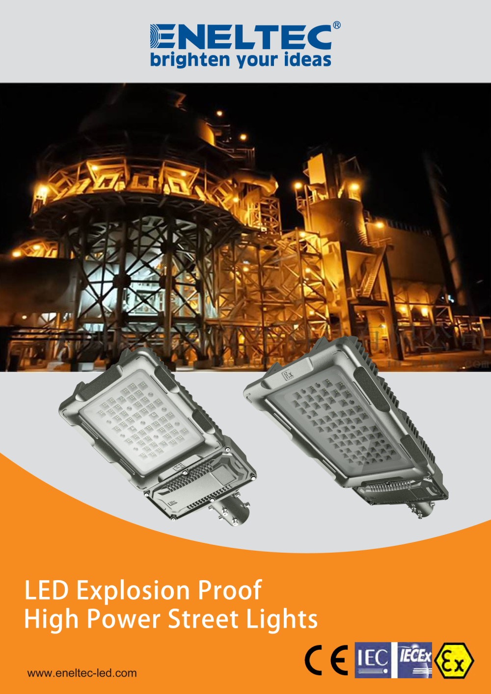 LED Explosion Proof High Power Street Lights