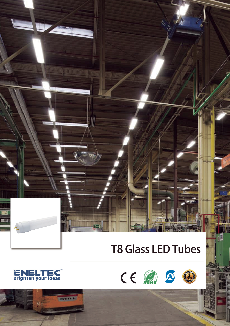 T8 Glass LED Tubes