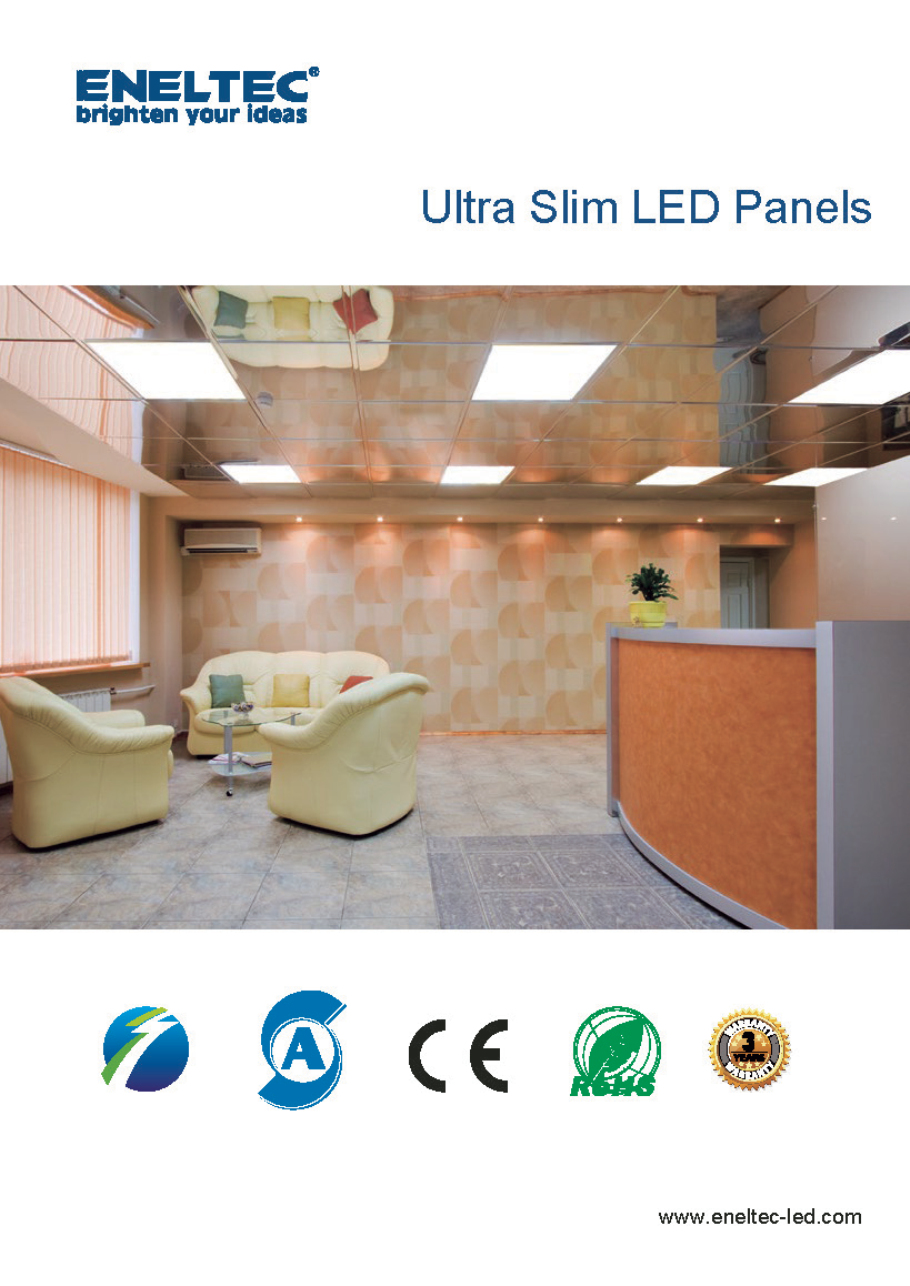 Ultra Slim LED Panels