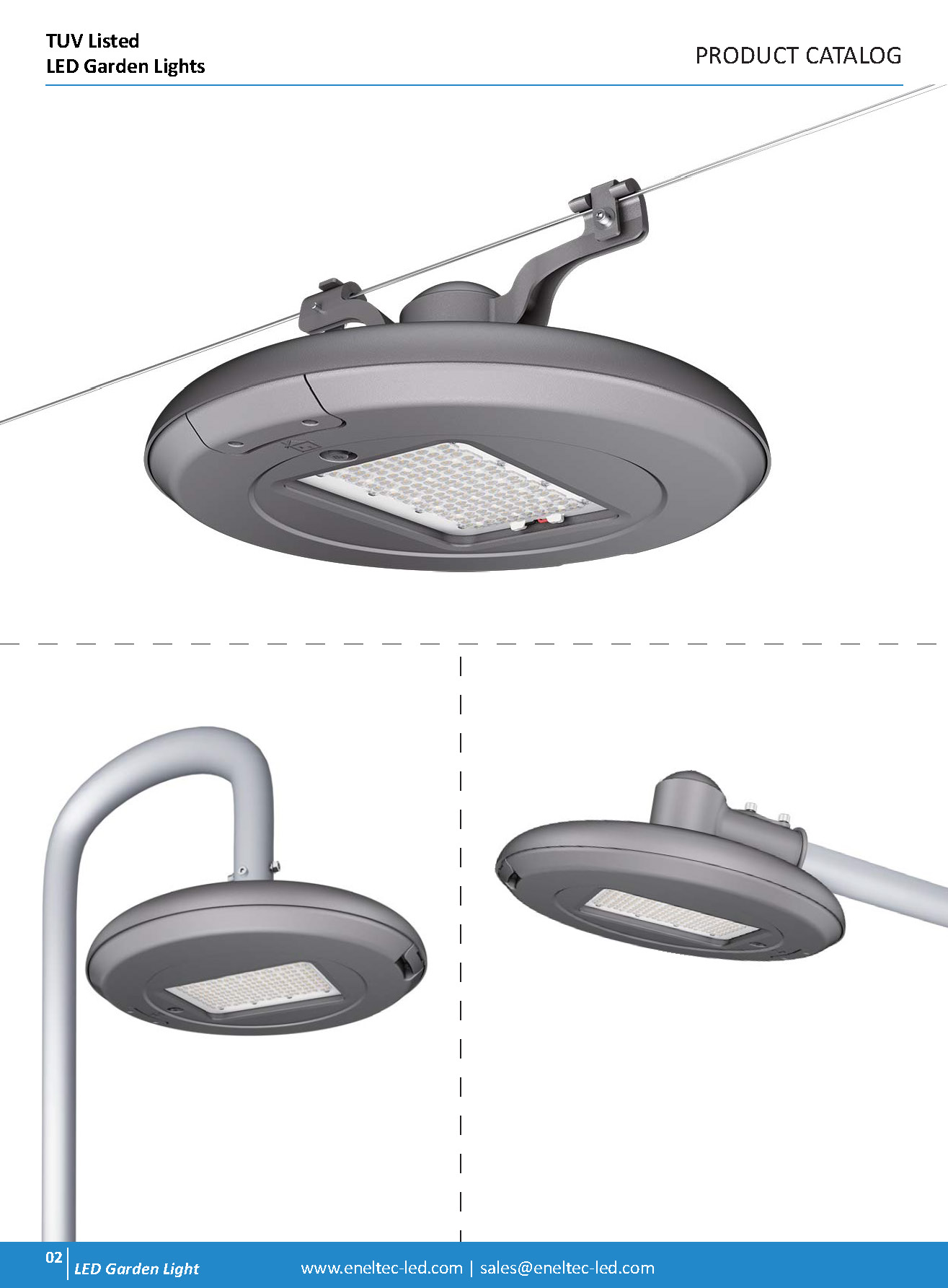 TUV Listed LED Garden Lights