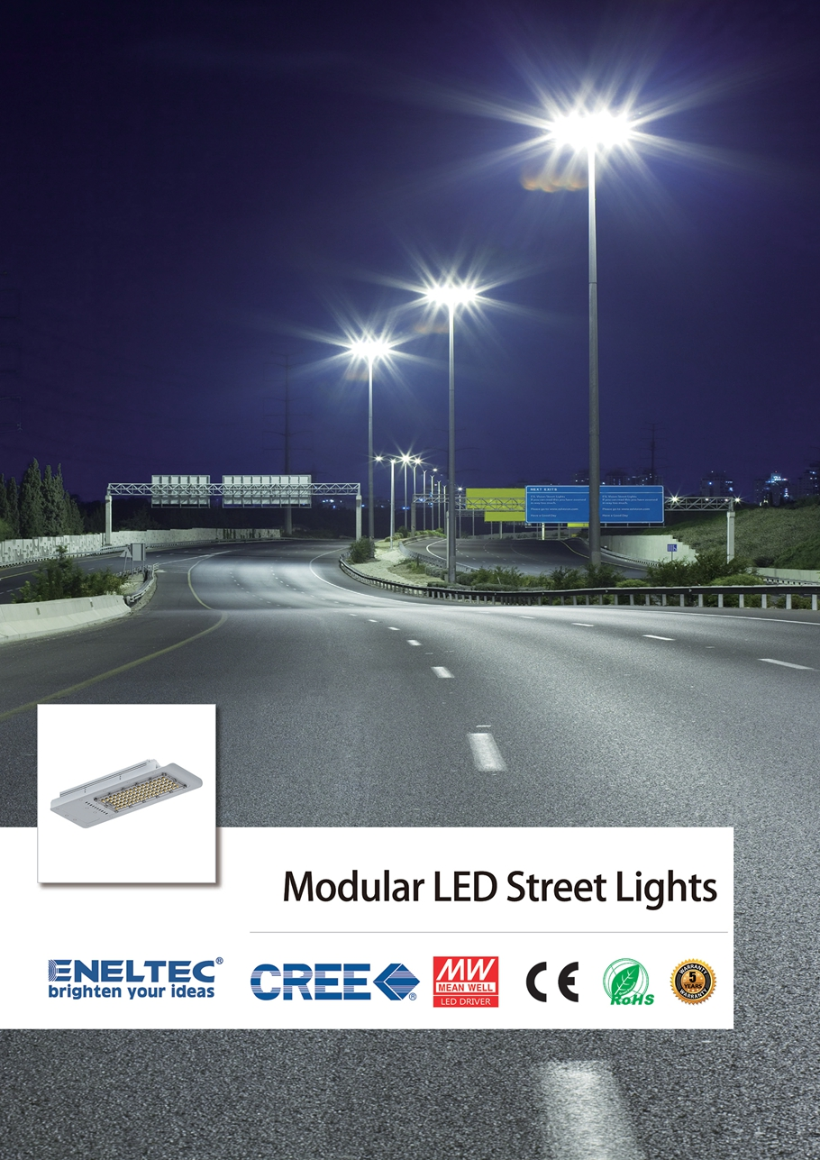 Modular LED Street Lights
