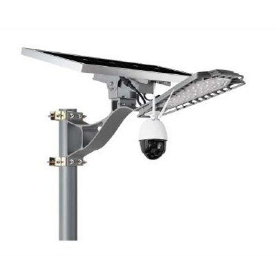 Solar LED Street Lights with CCTV