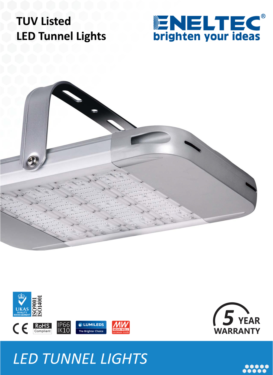 TUV Listed LED Tunnel Lights