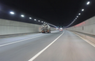 8 tunnels in Beishi updated LED lighting equipment before new year