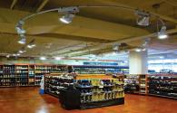 American supermarket select LED lamps for lighting renovation
