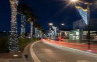 Belgian Dress Up Blue and White LED Street Lights