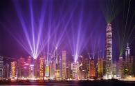 ENELTEC LED light show in Hong Kong