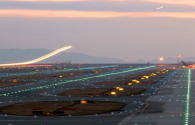 Erlianhot Airport completed the upgrade of taxiway sidelights
