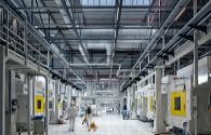 Intelligent lighting design of dairy industrial plant