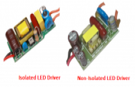 LED isolation and non-isolation solutions