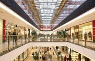 LED lighting products used in shopping mall