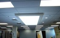 LED panel light into the interior lighting