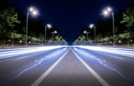 Smart LED street lights help city smart upgrade