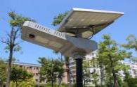 Solar LED street lamp application more and more widely