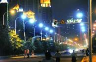 Taiwan's first series of LED Street lights are installed