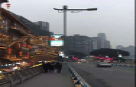 The first wisdom light pole demonstration project in Chongqing was completed and accepted