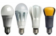 The luminous efficiency of LED bulbs and energy-saving bulbs is very different