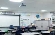The quality of classroom lighting affects myopia