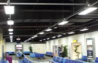 UK airports replace traditional lighting LED panel lights