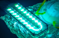 Use LED lamps for disinfection and sterilization
