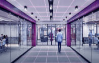 What are the uses of IoT lighting in commercial facilities