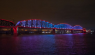 American Big Four Bridge first lighting LED lights