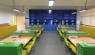 How does LED protect the classroom lighting?