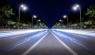 Smart LED street lights help city smart upgrade