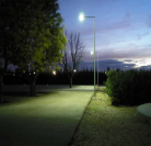 ENSL-40W-02 LED Street Lights in Spain